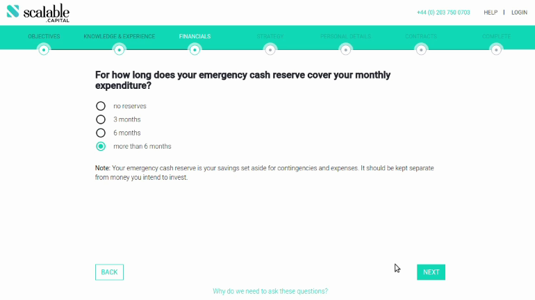 Scalable Capital How long will your emergency capital reserve cover your monthly costs?