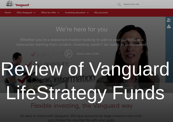 Vanguard LifeStrategy Review Cover Image