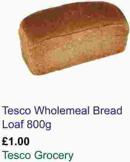 Loaf of Bread for £1