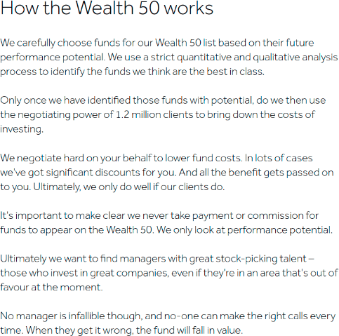 HL Wealth 50 Explanation